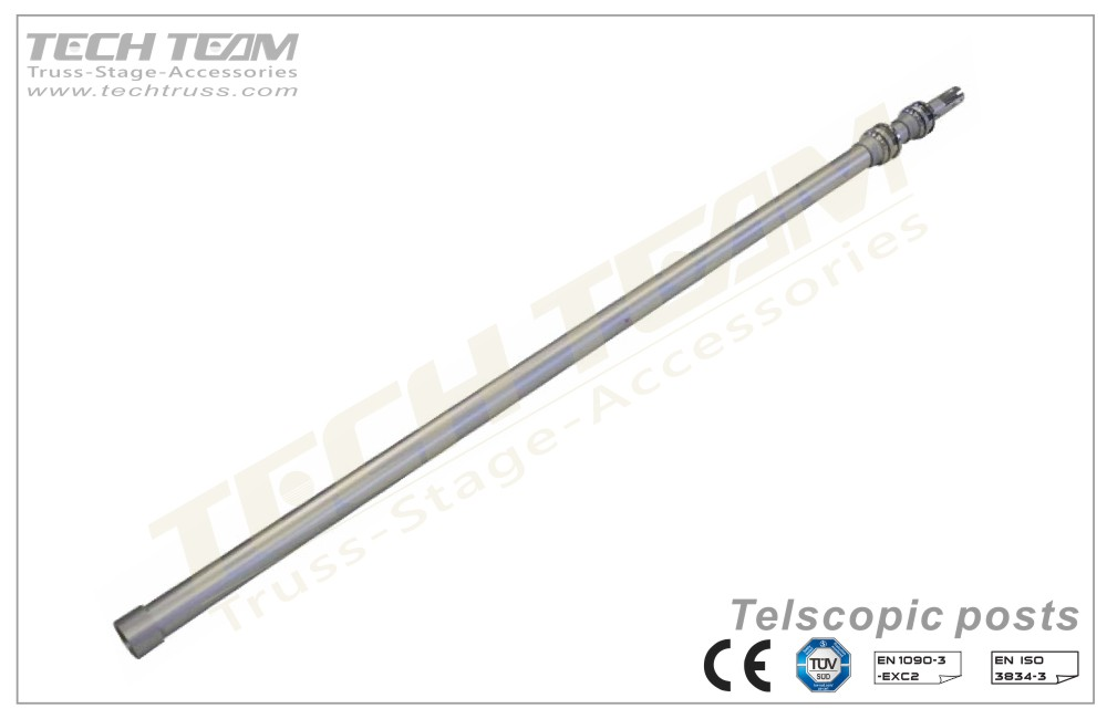 PDT1842  Telescopic posts (Upright)