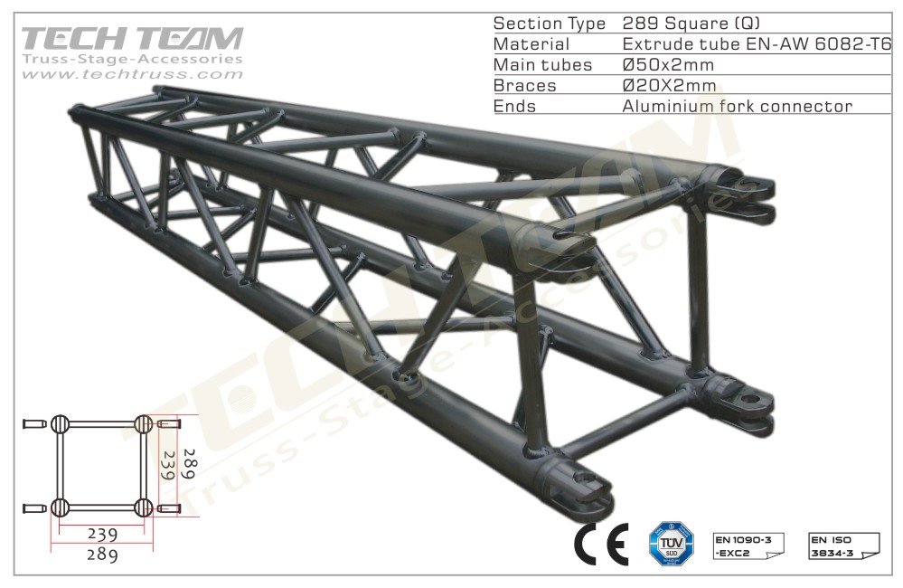 MB30-QS30;Straight truss;289 Square