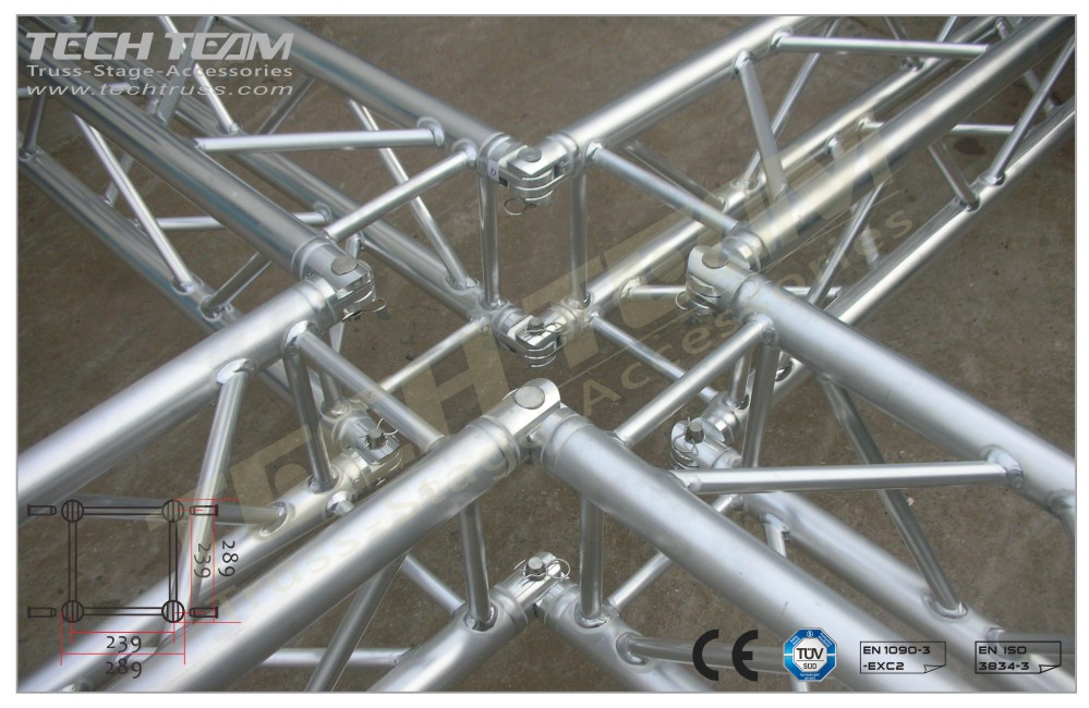MB30-QS40;Straight truss;289 Square