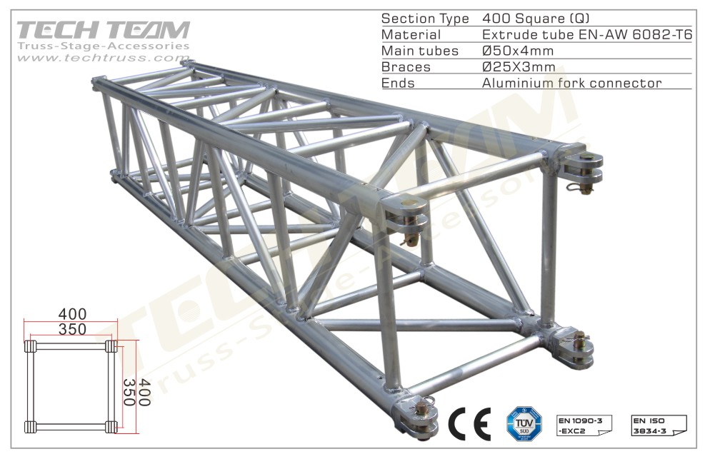 MD40-QS25;Straight truss;400 Square