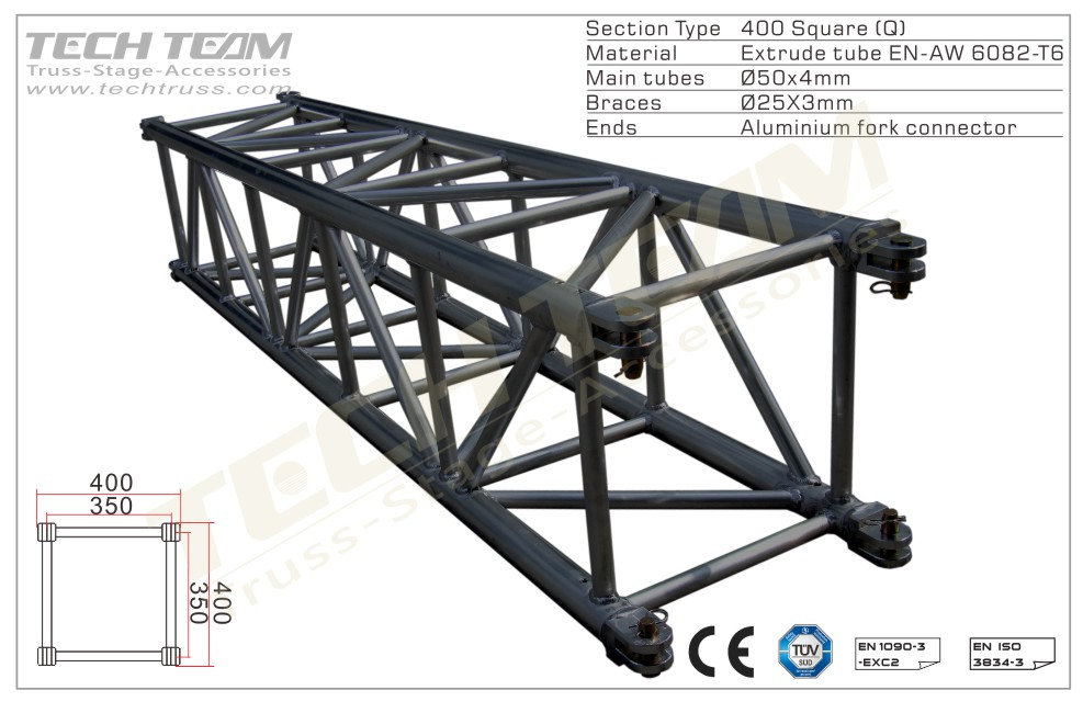 MD40-QS40;Straight truss;400 Square