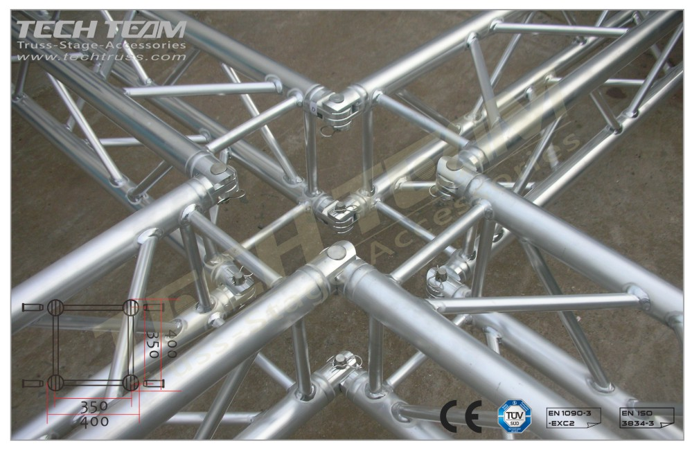 MC40-QS35;Straight truss;400 Square