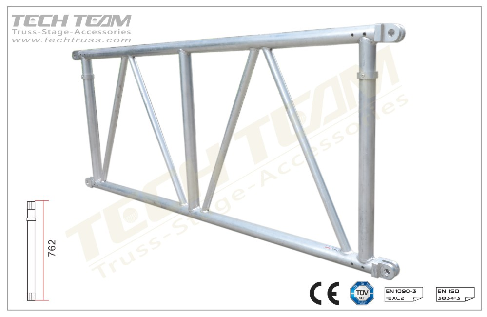 MD76-DS100;Straight truss;760 Flat