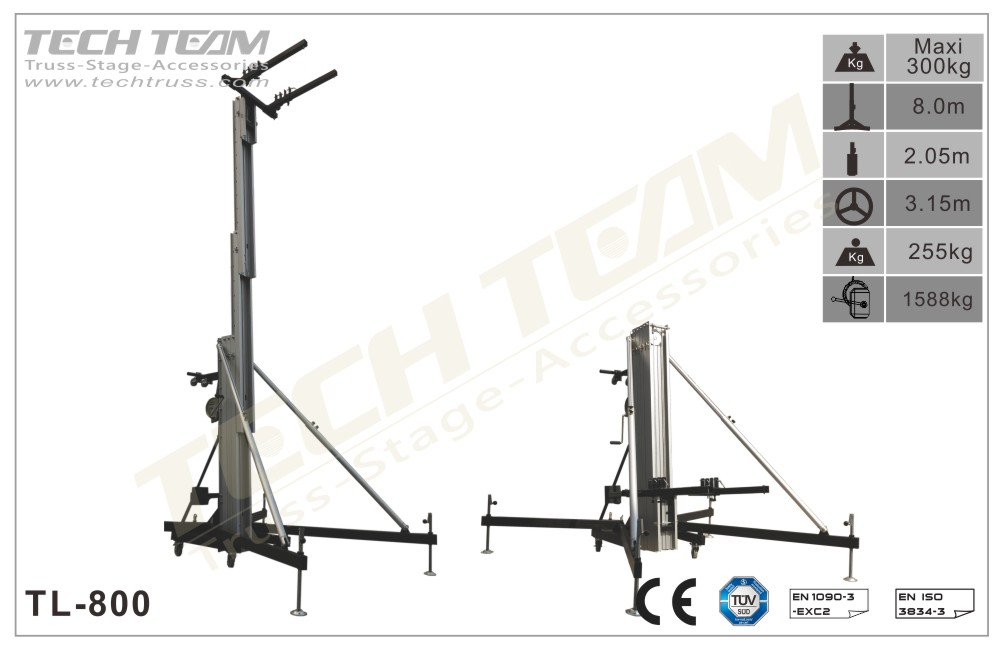 TL-800 Lifting tower