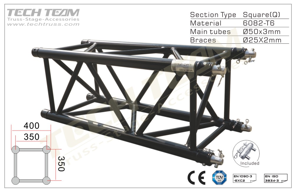 GC40-QS10;Straight truss;400 Square