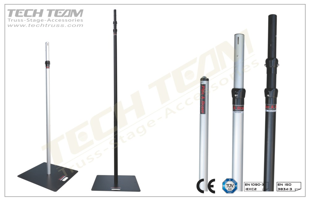 PDT2460L Telescopic posts (Upright) -Cost effective pipe