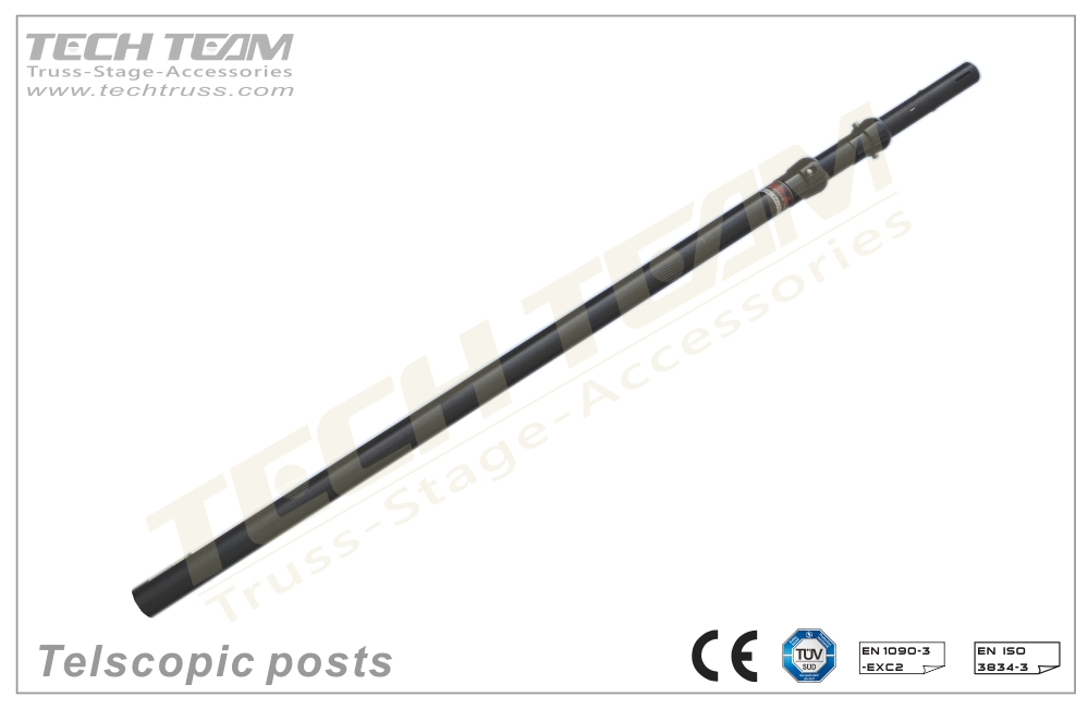PDT0915L Telescopic posts (Upright) - Cost effective pipe