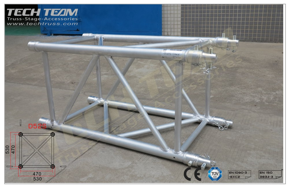 D52S-QS05;Straight truss;530x530 Square
