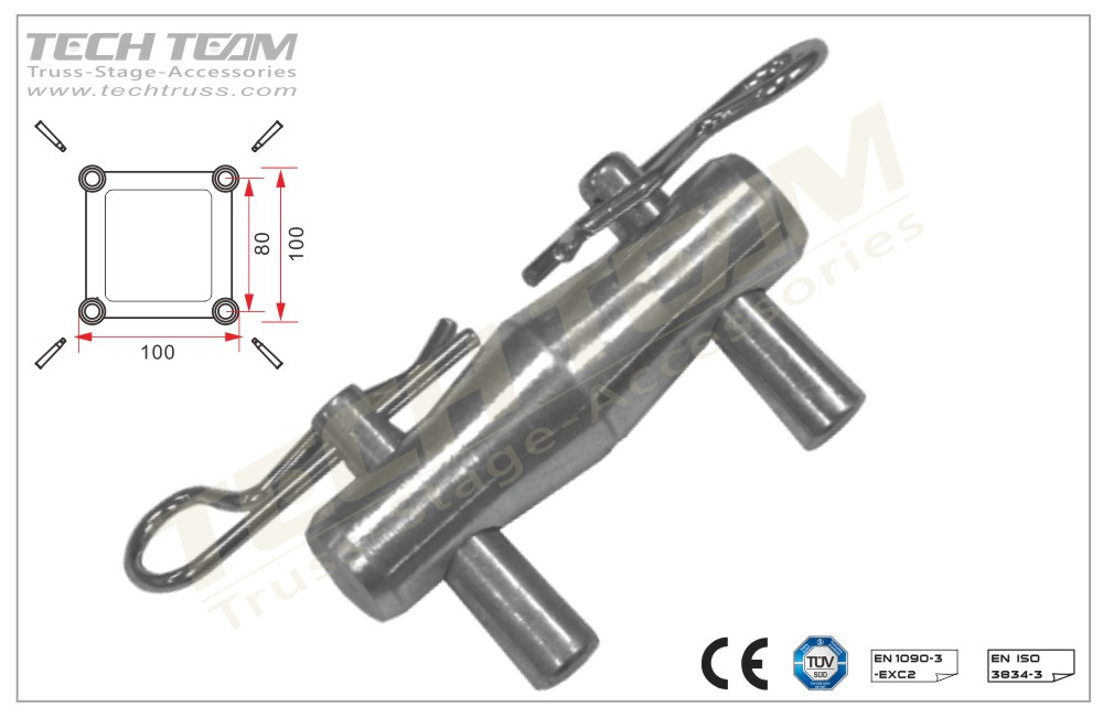 Truss 201KIT; Conical connector for truss