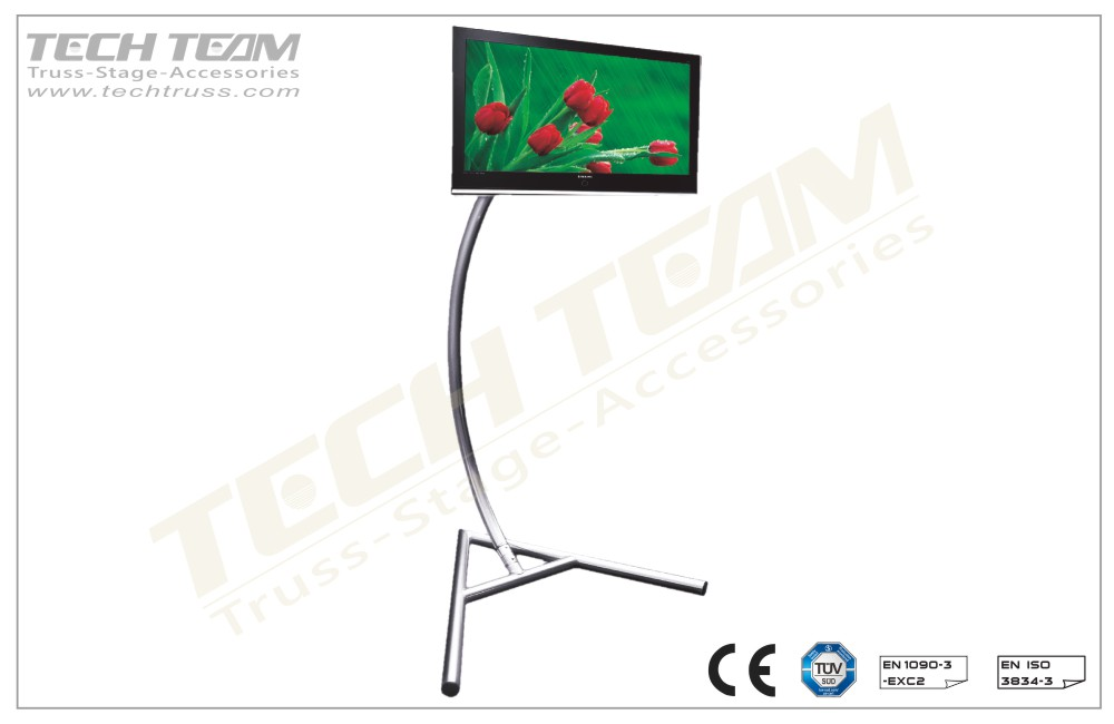 TV-02;Curved Plasma Stand (H)