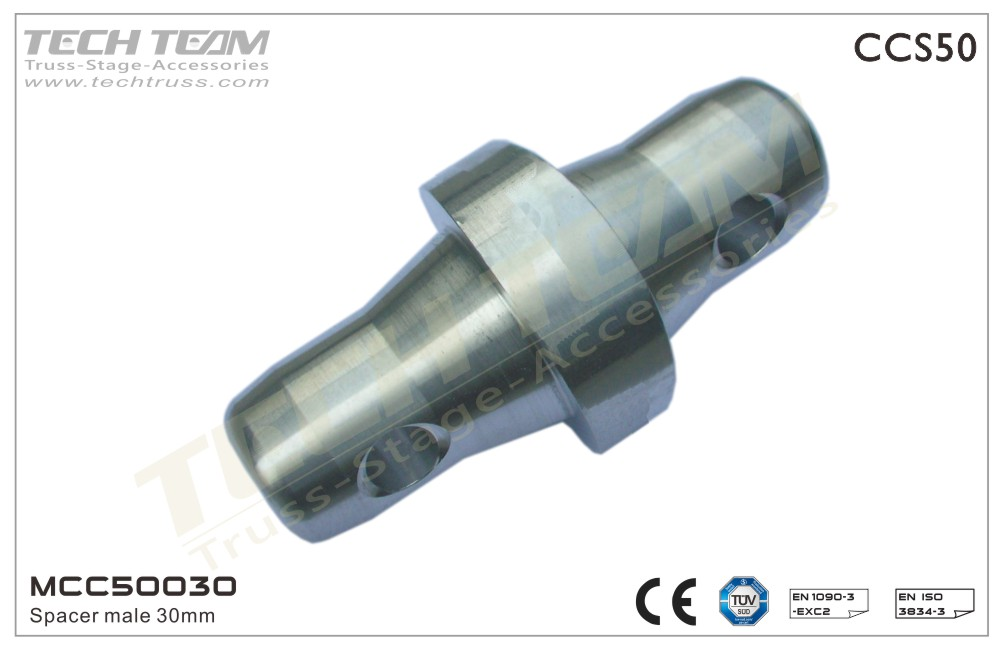 MCC50030;  Spacer Male 30mm
