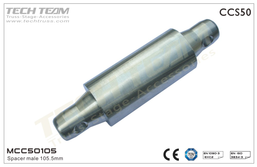 MCC50105;  Spacer Male 105mm