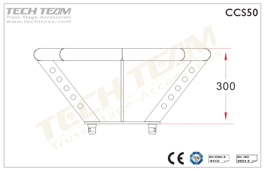 Lighting/Loudspeaker Bracket