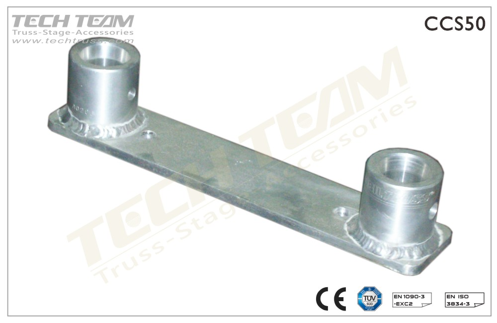 Base Plate : For Flat Truss;With Female Receivers
