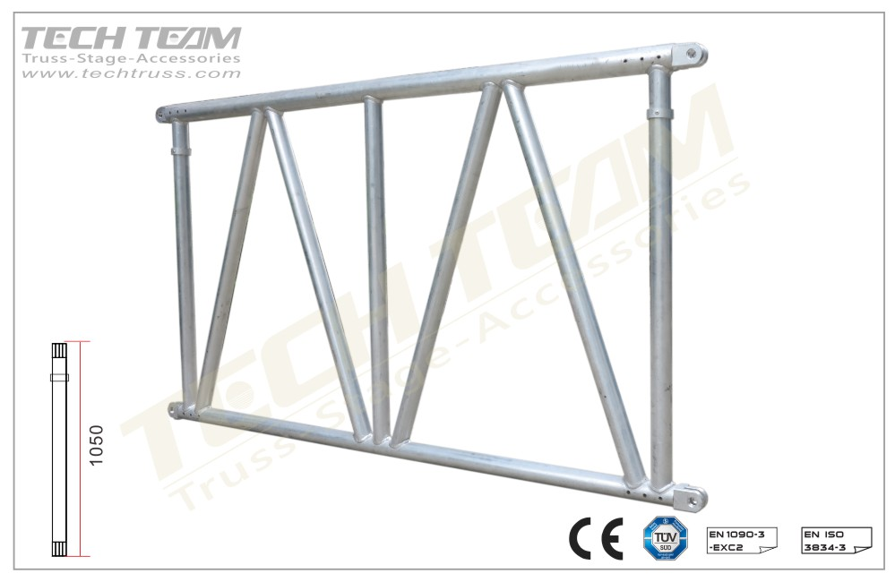 MD105-DS045;Straight truss;105 Flat