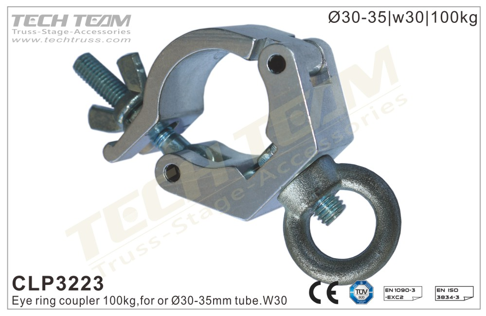 CLP3223; Eye Ring Coupler;For Ø30-35mm Tube