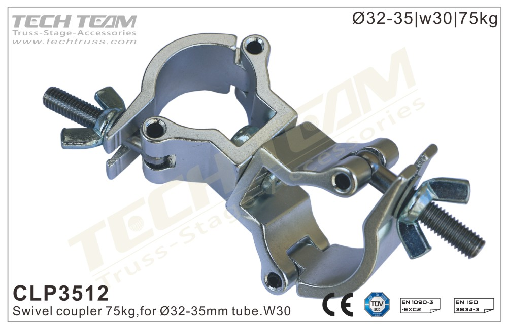 CLP3512; Swivel Coupler;For Ø32-35mm Tube