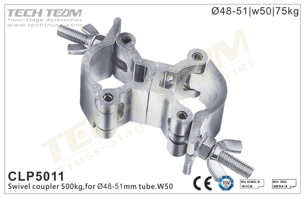 CLP5011; Swivel  Coupler;For Ø48-51mm Tube
