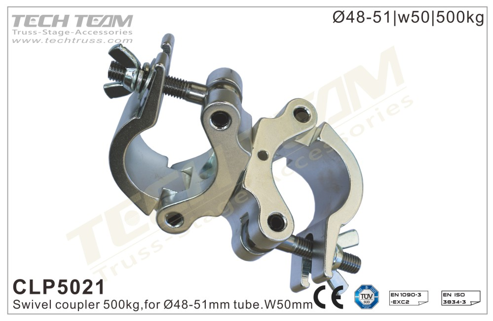 CLP5021; Swivel  Coupler;For Ø48-51mm Tube