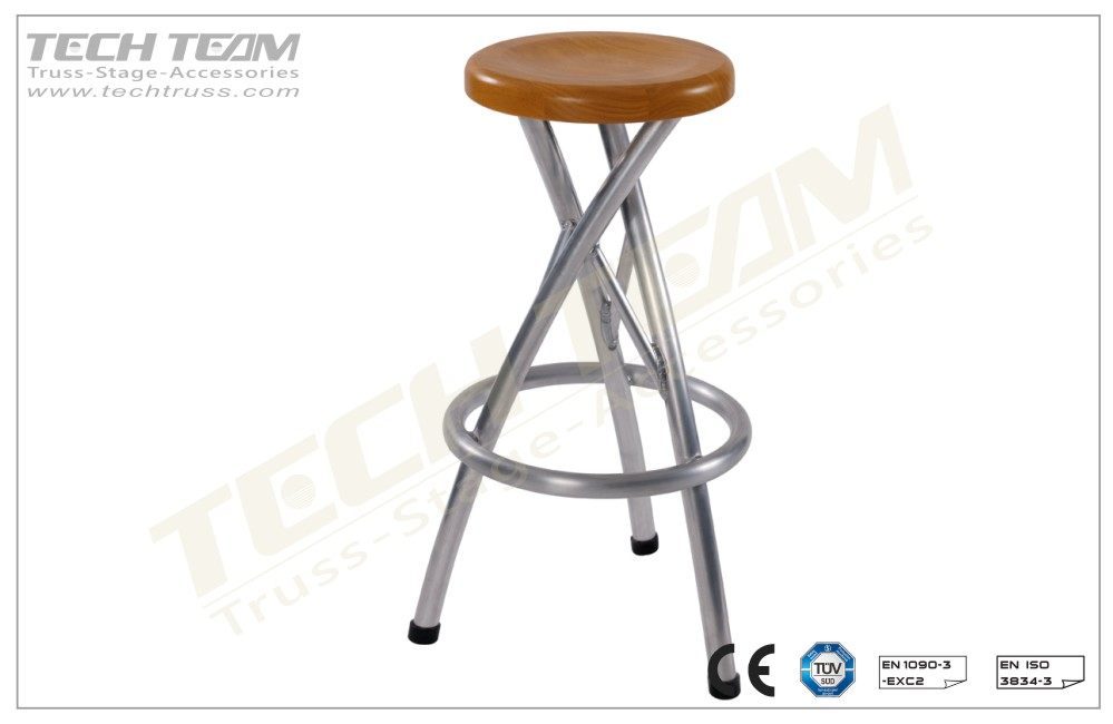 BS-03;Truss Stool Trio Twisted