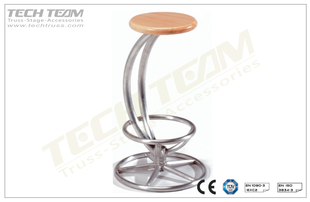 BS-04;Truss Stool  Curve