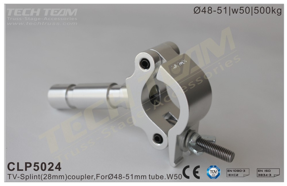 CLP5024; Half Coupler Spigot;For Ø48-51mm Tube