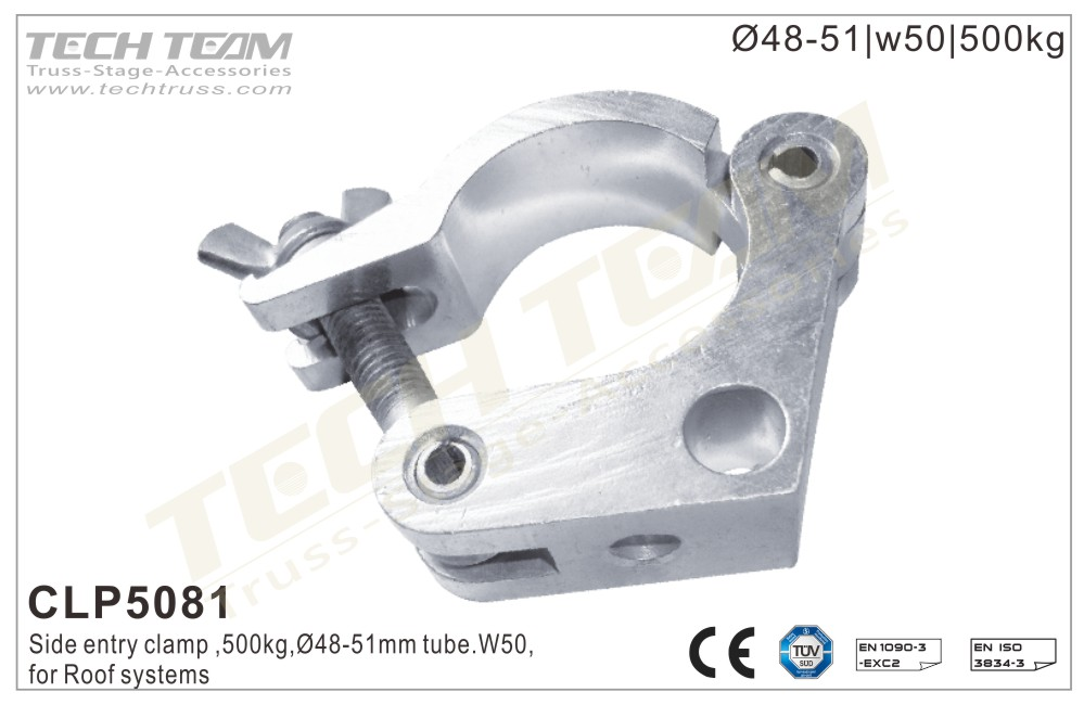 CLP5081; Side Entry Clamp;For Ø48-51mm Tube