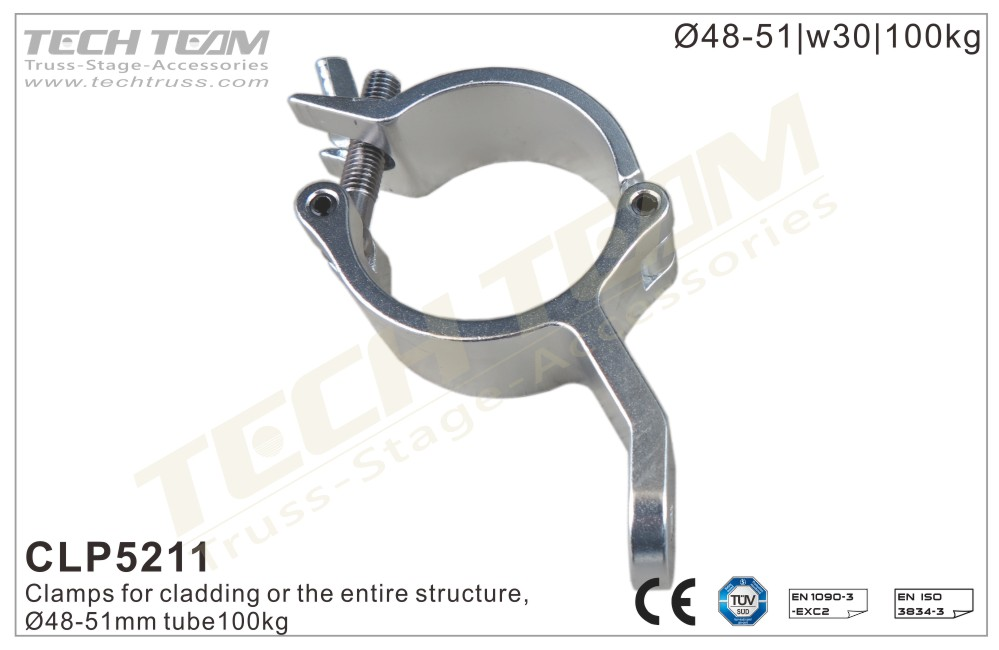 CLP5171; Clamp;For Ø48-51mm Tube