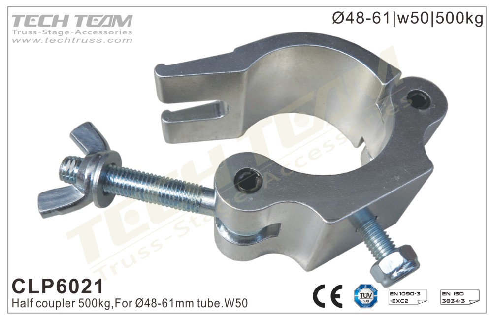 CLP6021; Half Coupler;For Ø48-51mm Tube