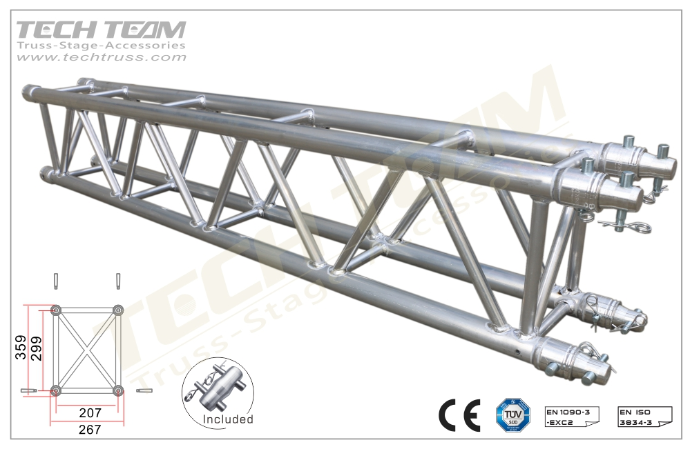 D36-RS15;Straight truss;359x267 Rectangle