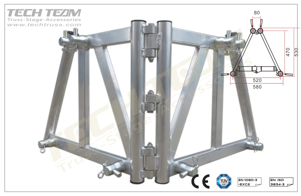 BK-52F;Book Corner;520 Folding truss