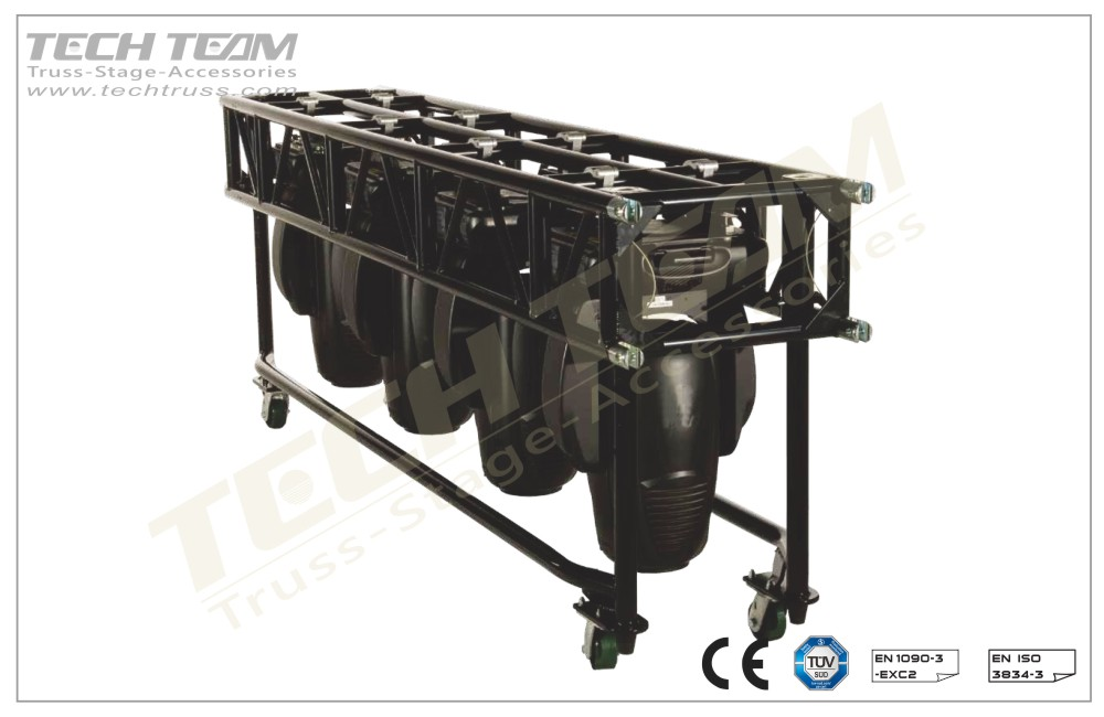 FD36P-RS244;Straight truss; 360 Pre-Rig Truss
